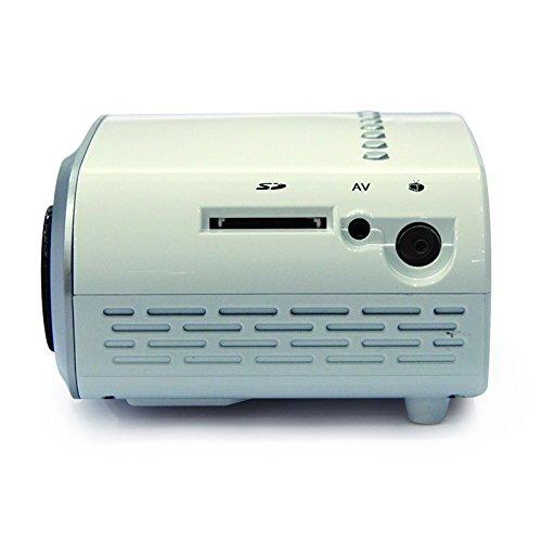 Fastfox Hd Projector Full Color 720p 3000 Lumens Analog Tv: FastFox Mini Projector 480*320 120 Lumen Private Cinema