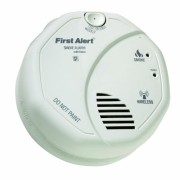 First-Alert-OLSMOKEV-SmartBridge-Wireless-Interconnected-Smoke-Alarm-with-Voice-and-Location-0