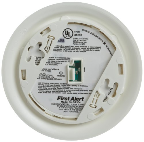 First-Alert-SA304CN3-Smoke-Alarm-with-Escape-Light-0-0