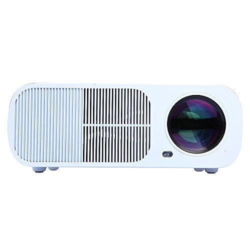 396e701d77cf76 Flylinktech® BL-20 HD LED Projector Cinema Theater 2600 Lumens ...
