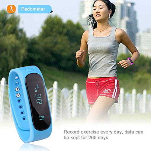 ForestfishTM-Bluetooth-Sync-Smart-Bracelet-Sports-Fitness-Tracker-Smart-Wristband-Water-Resistant-Tracker-Bracelet-Sleep-Monitoring-Anti-lost-Smart-Watch-Blue3-0-2
