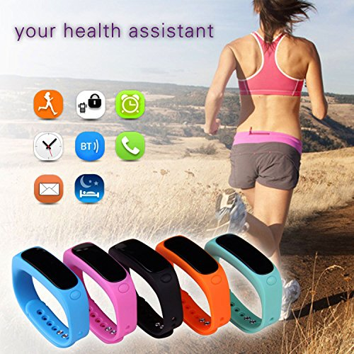 ForestfishTM-Bluetooth-Sync-Smart-Bracelet-Sports-Fitness-Tracker-Smart-Wristband-Water-Resistant-Tracker-Bracelet-Sleep-Monitoring-Anti-lost-Smart-Watch-Blue3-0-6