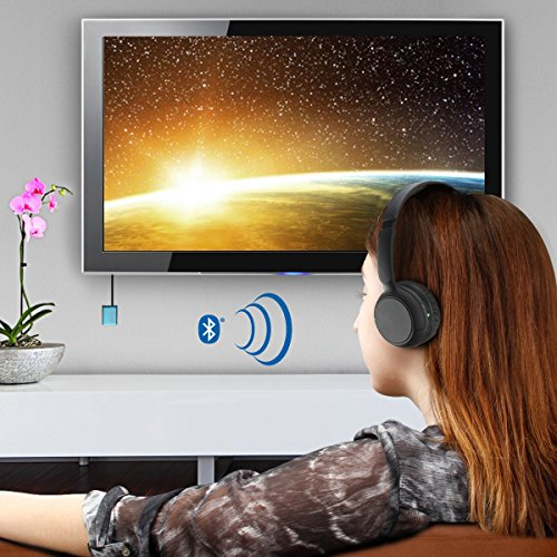 GOgroove Bluetooth TV Headphones Wireless Connection System
