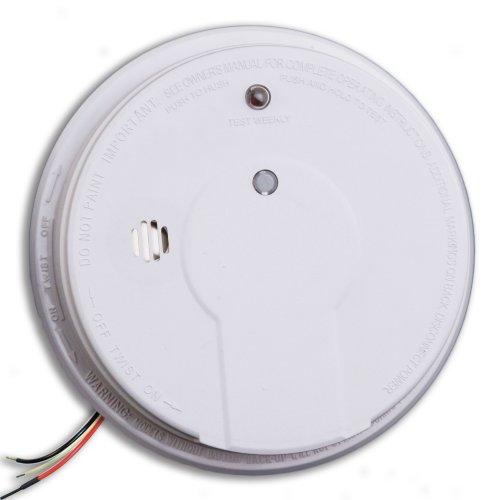 kidde i12020 hardwired smoke alarm with hush button interconnectable erics. Black Bedroom Furniture Sets. Home Design Ideas