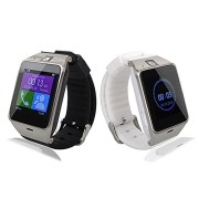 Kingear-A18-Smart-Bluetooth-30-NFC-Waterproof-Watch-Phone-Camera-Tf-Card-Wristwatch-for-IOS-Iphone-Android-Samsung-HTC-Etc-White-0-5