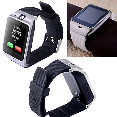 Kingear-A18-Smart-Bluetooth-30-NFC-Waterproof-Watch-Phone-Camera-Tf-Card-Wristwatch-for-IOS-Iphone-Android-Samsung-HTC-Etc-White-0-7