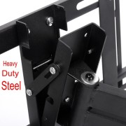 Lumsing-Universal-Corner-TV-Wall-Mount-Bracket-with-Full-Motion-Swing-OutExtendable-Tilting-Swivel-Articulating-Arm-for-14-40-LED-LCD-Plasma-TVs-and-flat-panel-displays-such-as-Dynex-Dell-Olevia-synta-0-4
