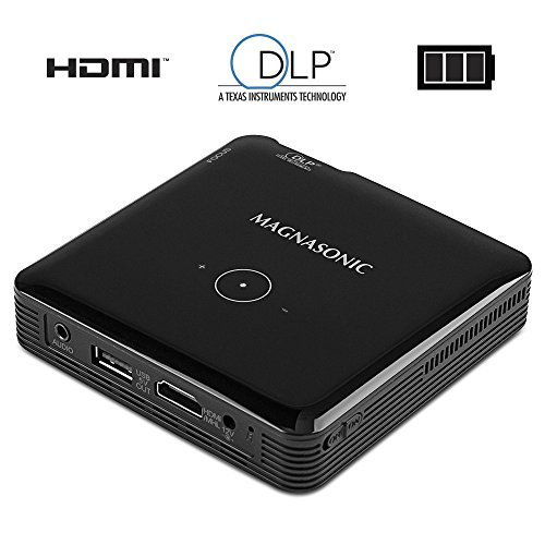 Magnasonic mini portable pico video projector hdmi for Laptop pico projector