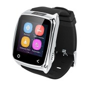 Neelam-I8-Bluetooth-3040-Smart-Watch-WristWatch-Phone-Mate-with-Music-ControlsCamera-ControlsActivity-Tracker-for-Smartphone-AndroidIOS-Apple-iPhone-4s55c5s66plus-Silver-0-1