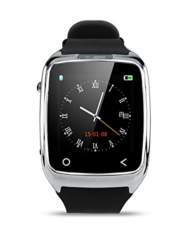Neelam-I8-Bluetooth-3040-Smart-Watch-WristWatch-Phone-Mate-with-Music-ControlsCamera-ControlsActivity-Tracker-for-Smartphone-AndroidIOS-Apple-iPhone-4s55c5s66plus-Silver-0