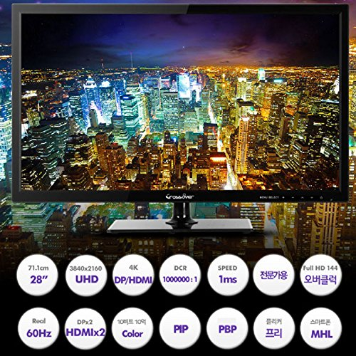 Perfect Pixel* CROSSOVER 285K UHD LED 28