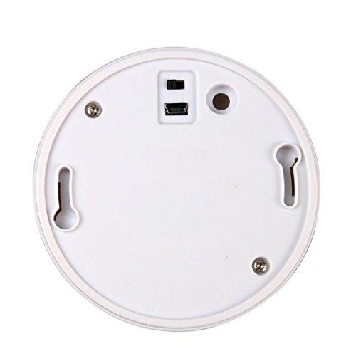 SODIAL(R) 720P wifi UFO Smoke Detector Hidden Camera Iphone