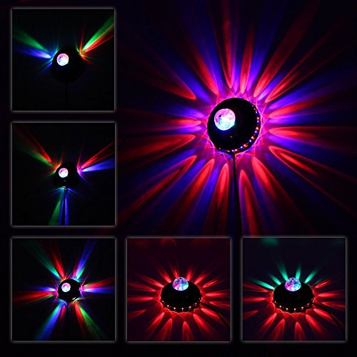Led Wall Dj Light: Seresroad® Magic Automatic Rotating Strobe Crystal Stage