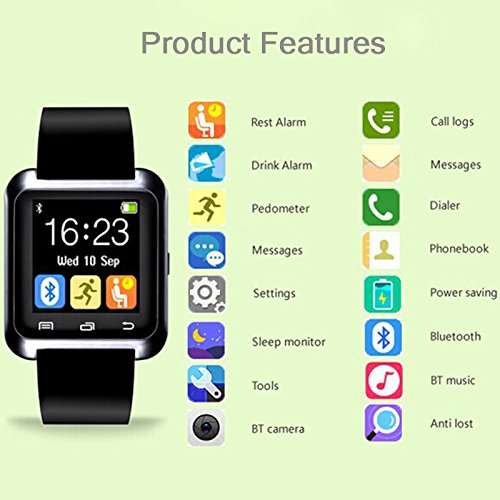 Singe-Bluetooth-40-Smart-Watch-Bracelet-for-Smartphones-Android-Samsung-S3S4S5-Note-2Note-3-Note-4-HTC-Sony-Black-0-4