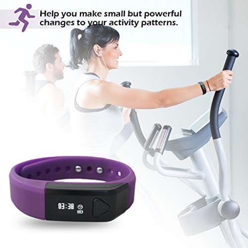 Fitness Bands Compatible With Iphone: Toprime® Fitness Bands,Pedometer,Activity Tracker,Smart