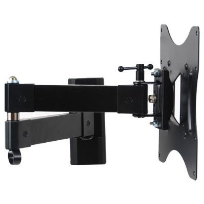 videosecu articulating arm 20 extension lcd led tv wall mount full motion tilt swivel mount. Black Bedroom Furniture Sets. Home Design Ideas