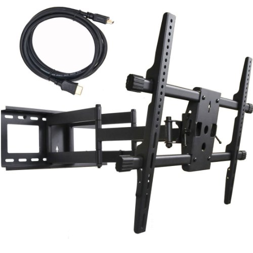 Videosecu Articulating Full Motion Tv Wall Mount Bracket