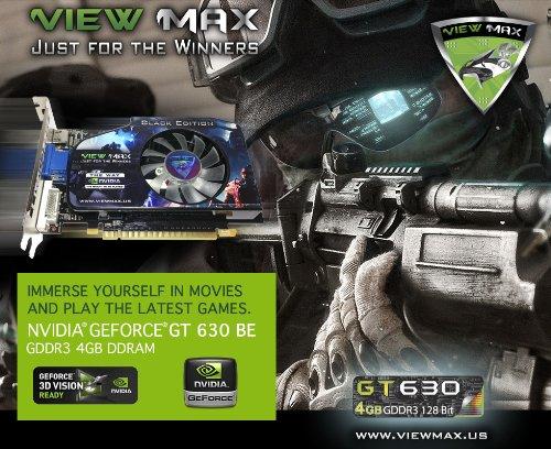 ViewMax-NVIDIA-GeForce-GT-630-4GB-BLACK-EDITION-GDDR3-128-Bit-PCI-Express-PCIe-DVI-Video-Card-HDMI-HDCP-Support-0-4