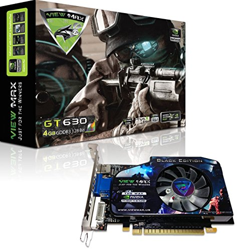 ViewMax-NVIDIA-GeForce-GT-630-4GB-BLACK-EDITION-GDDR3-128-Bit-PCI-Express-PCIe-DVI-Video-Card-HDMI-HDCP-Support-0