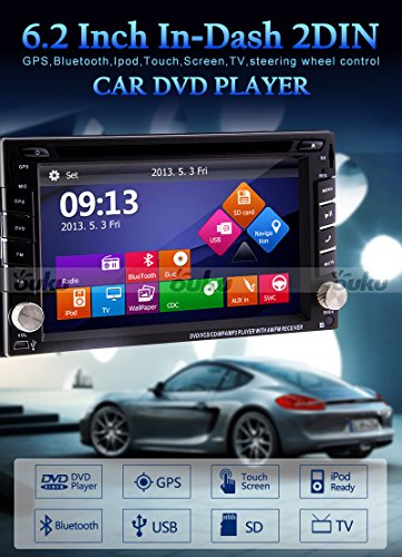 Windows8-UI-2015-New-Model-62inch-Universal-2-din-LCD-Touch-Screen-in-Dash-Car-DVD-Player-with-Dvdcdmp3mp4usbsdamfmRadiobluetoothstereoaudio-GPS-Navigation-Free-Official-Kudos-GPS-Map-0-0