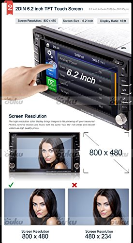 Windows8-UI-2015-New-Model-62inch-Universal-2-din-LCD-Touch-Screen-in-Dash-Car-DVD-Player-with-Dvdcdmp3mp4usbsdamfmRadiobluetoothstereoaudio-GPS-Navigation-Free-Official-Kudos-GPS-Map-0-2