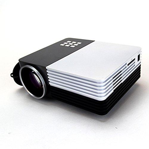 Xinda 100 mini multimedia portable lcd led video game for Mini usb projector for mobile