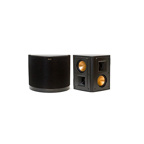klipsch rs 42 ii reference series surround speakers pair black erics electronics. Black Bedroom Furniture Sets. Home Design Ideas