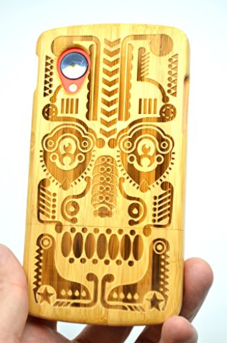 LG-Google-Nexus-5-Wood-Case-Bamboo-Totem-Premium-Quality-Natural-Wooden-Case-for-your-Smartphone-and-Tablet-by-VolksRoseTM-0-1