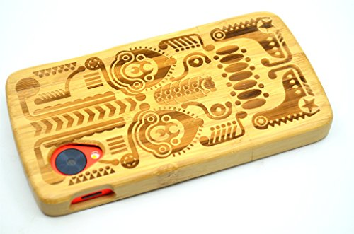 LG-Google-Nexus-5-Wood-Case-Bamboo-Totem-Premium-Quality-Natural-Wooden-Case-for-your-Smartphone-and-Tablet-by-VolksRoseTM-0-4