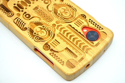 LG-Google-Nexus-5-Wood-Case-Bamboo-Totem-Premium-Quality-Natural-Wooden-Case-for-your-Smartphone-and-Tablet-by-VolksRoseTM-0-6