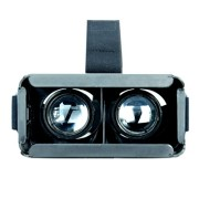 SUNNYPEAK-Plastic-Google-Cardboard-3D-VR-Virtual-Reality-Glasses-with-Adjustable-Focal-Distance-Pupil-Distance-for-iPhone-Samsung-Nexus-HTC-Moto-LG-Mobile-Smartphone-with-QR-Code-Blackwith-Magnet-0-2