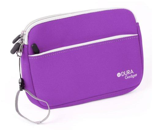 DURAGADGET-Lightweight-Ultra-Portable-Neoprene-GPS-Case-in-Purple-for-the-NEW-TomTom-GO-610-TomTom-GO-6100-Satnavs-0