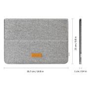 158c0a3ce264 Inateck 12.9 iPad Pro/ 13.3 Inch MacBook Air/ Pro Retina Sleeve Case ...