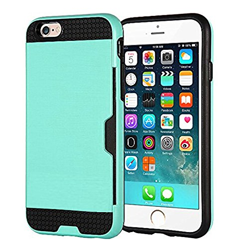 6SiPhone-6S66-CaseiPhone-6S-Case6S-CaseiPhone-6S-47-CaseCreativecase-2in1-PC-TPU-Hybrid-With-Credit-ID-Card-Solt-Design-Case-Cover-for-iPhone-6S6-47-inch-Green-0-0