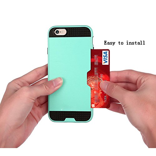 6SiPhone-6S66-CaseiPhone-6S-Case6S-CaseiPhone-6S-47-CaseCreativecase-2in1-PC-TPU-Hybrid-With-Credit-ID-Card-Solt-Design-Case-Cover-for-iPhone-6S6-47-inch-Green-0-3