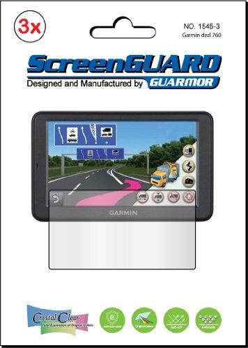 3x-Garmin-dezl-760-760LM-760LT-760LMT-LM-LT-LMT-7-GPS-Premium-Anti-Glare-Anti-Fingerprint-Matte-Finishing-LCD-Screen-Protector-Cover-Guard-Shield-Protective-Film-Kits-Package-by-GUARMOR-0