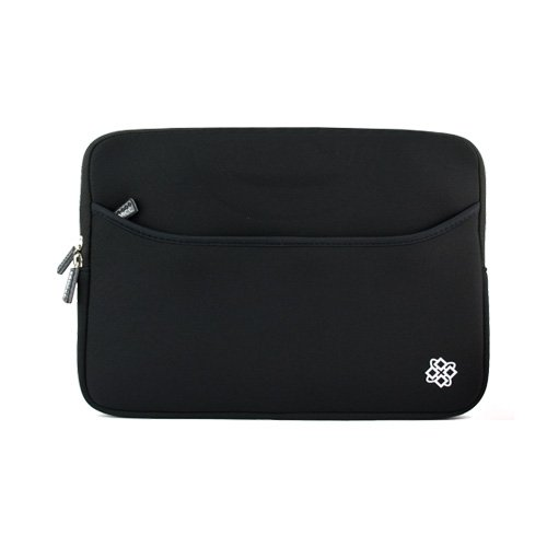 KOZMICC-7-Inch-Black-GPS-Sleeve-Case-Cover-Pouch-Bag-for-Garmin-2797LMT-dezl-760LMT-Magellan-RoadMate-9250T-LMB-Commercial-9270T-LM-9165T-LM-RV-1700-LM-and-other-7-Inch-GPS-Devices-0-0