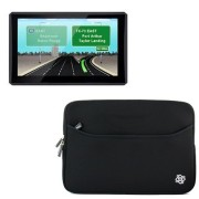 KOZMICC-7-Inch-Black-GPS-Sleeve-Case-Cover-Pouch-Bag-for-Garmin-2797LMT-dezl-760LMT-Magellan-RoadMate-9250T-LMB-Commercial-9270T-LM-9165T-LM-RV-1700-LM-and-other-7-Inch-GPS-Devices-0