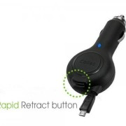 Professional-Retracatble-Garmin-RV-760LMT-Car-Charger-with-One-Touch-rapid-button-system-BLACK-BULK-1A-0-1