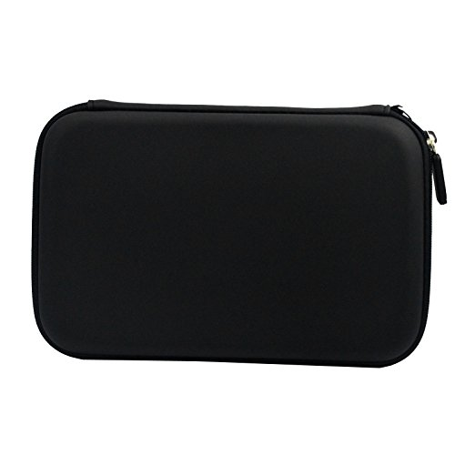 Topepop-7-Inch-Black-Hard-Protective-GPS-Carrying-Pouch-Cover-Case-Pouch-Bag-for-Garmin-2797lmt-2798LMT-2757LM-2789-Dezl-760lmt-7-Inch-Magellan-Tomtom-GPS-Devices-0-2